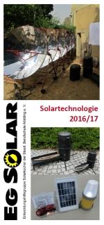 Solartechnologie 2016-17